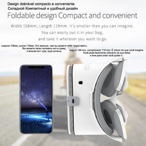 Bobo Bobovr Z6 Casque Helmet 3D VR Glasses Virtual Reality Headset For iPhone Android Smartphone Smart Phone Goggles Lunette Set
