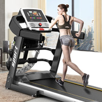 Treadmill Folding Home Indoor Gym Walking Machine Multi-function Flat Treadmill, Say Goodbye To Boring Work