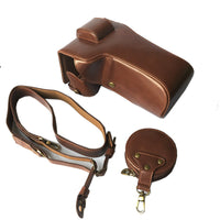 high quality PU Leather case Camera bag For SONY A7R4 A7RM4 A7RIV A7 MarkIV A9II A9M2 SLR Cover With Battery Opening