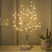 2019 New Arrivals White LED With 60 White Star Table Lamp For Home Decoration Wedding Bedroom Best Selling Dropshipping