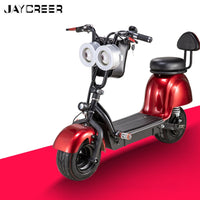 JayCreer Foldable Electric Mobile Electric Motorcycle 800W Lithium Battery 48V/12A 30-35KM/H Voyage:30KM Certification:CE