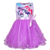 Snow Queen Girls Elsa Anna Dresses For Girls Birthday Gift Costume Party Princess Tutu Girs Summer Dress Children Clothing3-8Y