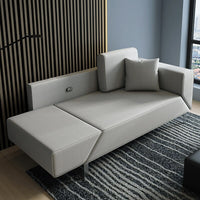Creative sofa bed dual-use hotel apartment supporting small apartment multi-function office study sofa sofa bed
