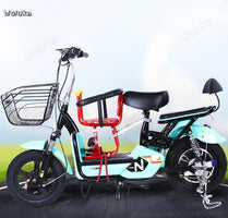 Electric motorcycle child sitting chair front battery car scooter safety seat front seat CD50 Q02