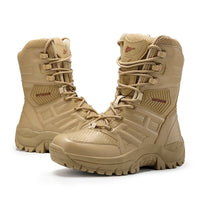 New Winter Autumn Men Military Boots Quality Special Force Tactical Desert Combat Ankle Boats