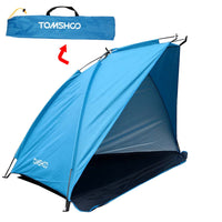 TOMSHOO Single Layer Beach Tents 2 Persons Camping Tent Anti UV Sun Shelters
