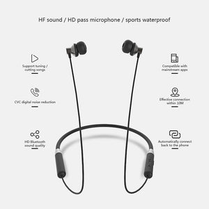 Lenovo Wireless Bluetooth Earphones Headphones Magnetic Sports Running Headset IPX5 Waterproof Sport Earphone Noise Canceling