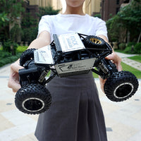 1:16 Rc Car 4wd Drive Climbing Off-road Vehicle 2.4G Radio Rock Crawler Educational Toys For Children Remote Control Car  Trucks