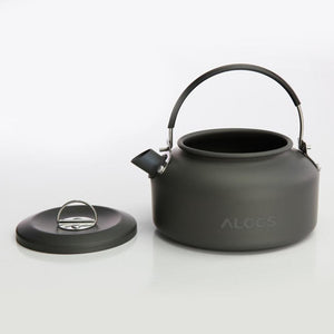 ALOCS CW-K02 Ultra Lightweight Cookware Outdoor Camping Kettle 0.8L Tea Coffee Pot for Camping Fishing