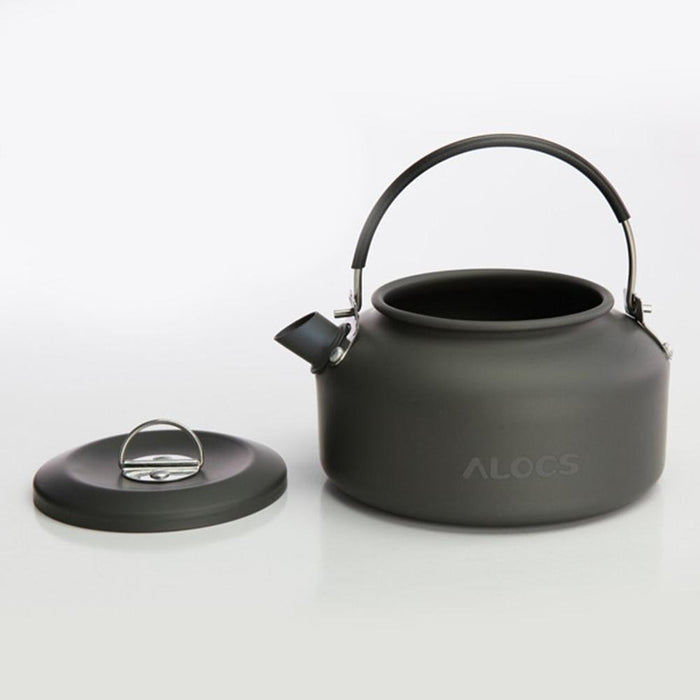 ALOCS CW-K02 Ultra Lightweight Cookware Outdoor Camping Kettle 0.8L Tea Coffee Pot