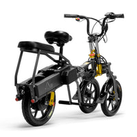 JX003 Factory price 48V 8AH 350W adult scooter electric tricycle
