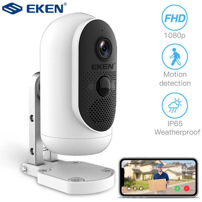 EKEN WiFi Camera Rechargeable Battery Powered IP Camera 1080P Full HD Outdoor Indoor