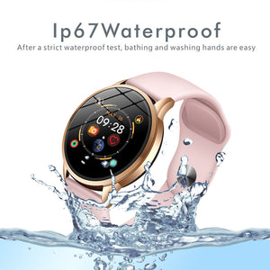 LIGE fitness tracker smart watch women Waterproof Sport For IOS Android phone Smartwatch women Heart Rate Monitor Blood Pressure