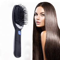 Portable Negative Ion Hair Straightening Comb Anti Static Scalp Massage Electric Hair Styling Tool