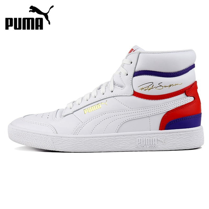 Original New Arrival  PUMA Ralph Sampson Mid Unisex Skateboarding Shoes Sneakers