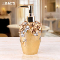 European-style Retro Bathroom Accessory Set Resin Wash Set Toilet Bathroom Supplies Cleaning