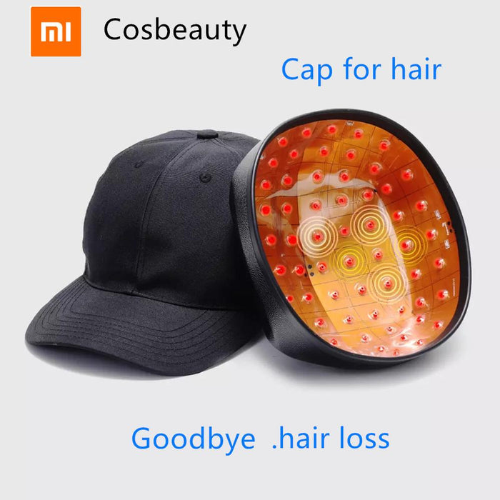 New Xiaomi Cosbeauty LLLT Hair Growth Regrowth Helmet Reduce Hair Loss Cap Hair Treatment