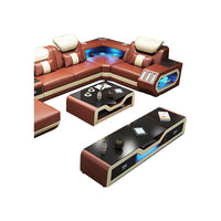 coffee table basse de salon стол журнальный столик tv stand meubles tv мебель monitor stand Nordic modern leather and glass