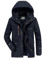 Brand Winter Military jacket Men Windbreaker wool Liner Overcoat Jaqueta Masculina Men's