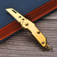 2020 Mini Folding Knife Self Defense Pocket Knifes Hunting Military Knive Camp Survival Outdoor EDC Tool Box Letter Opener