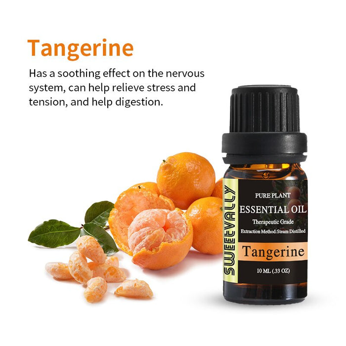 Sweetvally Tangerine Essential oils to help sleep with high quality essential oils organic