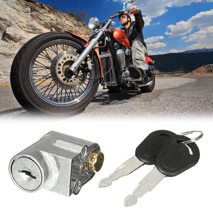 Battery Safety Pack Box Lock W//2 Key for Motorcycle Electric Bike Scooter E-bike
