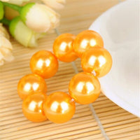 Headwear Big Imitation Pearl Hair Rope Holder Hairband