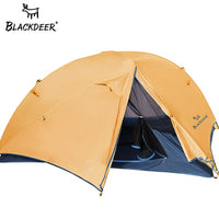 2 Person Upgraded Ultralight Tent 20D Nylon Silicone Coated Fabric Waterproof Tourist