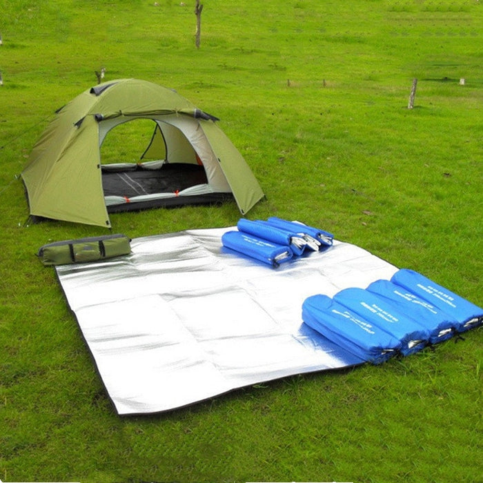 2019 New Camping Mat Tent Mattress Waterproof Aluminum Foil EVA Collapsible Sleeping