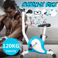 Indoor Cycling Bikes Indoor Exercise Bike Spinning Bike Foldable Gym Machine Home Fitness Equipment Sport Bicycle Fitness Bike