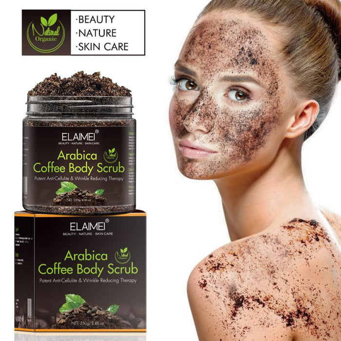 Body Scrub Skin Care Exfoliating Whitening Moisture Reducing Cellulite Skin Beauty