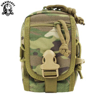 SINAIRSOFT Tactical Molle Pouch Belt Waist Pack Bag Small Pocket Military Running Pouch Camping Bags Mobile Phone Wallet Travel