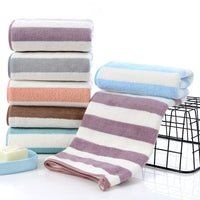 2pcs/set Coral Fleece Bath Towel For Adult Children Soft Water Absorption Home Hotel Beach Towel Baths Beach Towels Sets