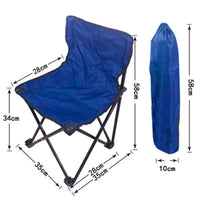 Outdoor Portable Folding chair Camping Hiking Travel Casual Chair Seat For Fishing Picnic Beach