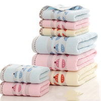 3-piece Bath towel set of pure cotton thickened soft strong absorbent bath towel men and women towel sports towel beach towel