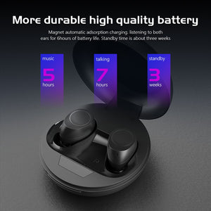CBAOOO J10 TWS Bluetooth Earphone 5D stereo 5.0V Wireless Headphone Microphone Blutooth Earphone Sports Earbuds Gaming Headset