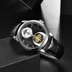 PAGANI 2019 New Mens Watches Top Brand Luxury Watch Mechanical Automatic Watch Men Tourbillon Moon phase watch Relogio Masculino