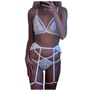 New Sexy Lingerie Women Plus Size Underwear Sleepwear Lace Seamless Wire Free Temptation