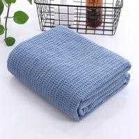 Knitted Decorative Throw Blanket Sofa Photography Props Super Soft Blanket Cotton Aircraft