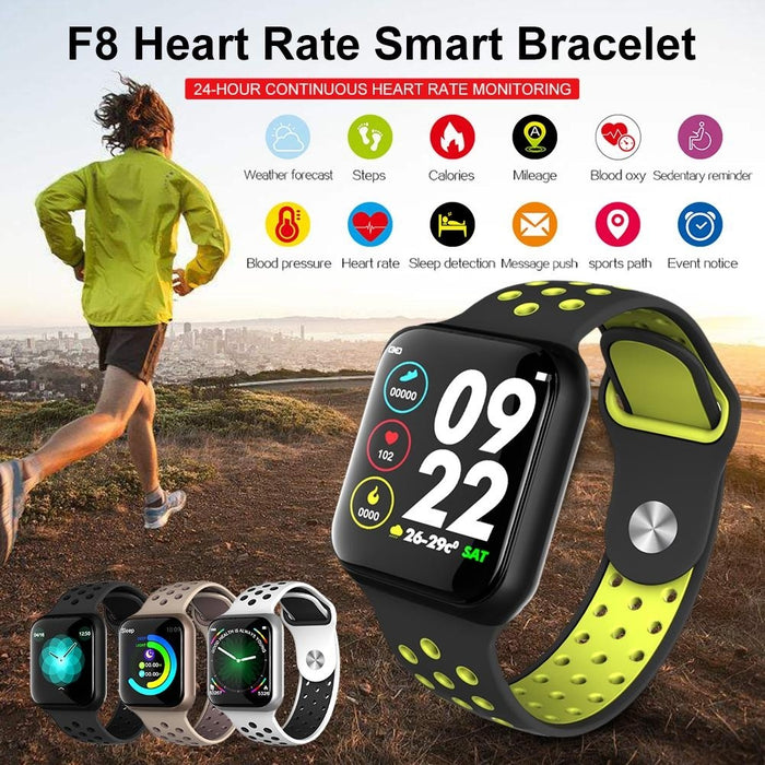 Pedometer Smart Watch Long Standby Sport Connect Watch Heart Rate Monitor Blood Pressure