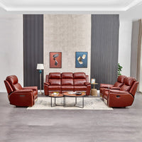 modern leather multi-functional  combination couches for living room  sofa set living room furniture