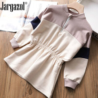 New 2019 baby girl spring dress Cotton kids clothes girls long sleeve princess dresses for children sport clothes costume