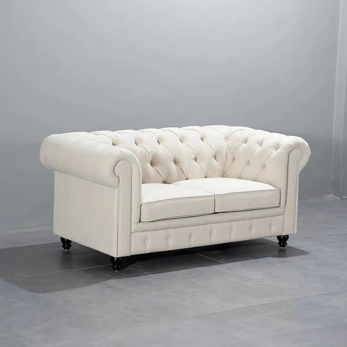 U-BEST Luxury  Vintage 2 seat Chesterfield Sofa For Hotel/Villa,European design comfortable