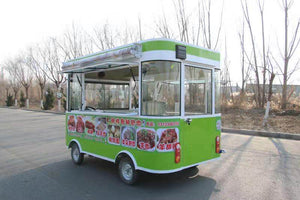 Kitchen Cooking Mobile Food truck /dining car Ice Cream Food Vending Cart electric food vehicle