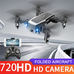 MINI 2.4G WIFI FPV 720PHD Camera Foldable Long Life Simple Control RC Quadcopter Drone Quadcopter kids toys Folding PropellerG20