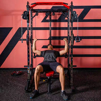 Smith Machine Squat Rack Power Rack Multi-function Gym Equipment Free Squat Bench Stand Household Fitness Equipment Manufacturer
