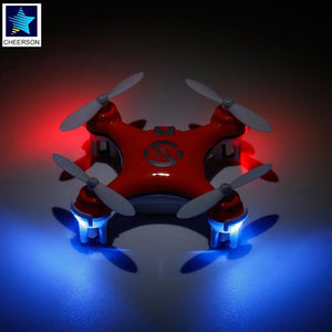 Original Cheerson CX-10 Mini Drone 6 axis gyro 2.4G 4CH 3D rotation mode RC Quadcopter Drone Profissiona With LED light Toys Kid