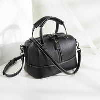 High Quality Genuine Leather Women's Handbags Shoulder Crossbody Bags Ladies 100% Cowhide Leather Doctor Bag Women Messenger Bag