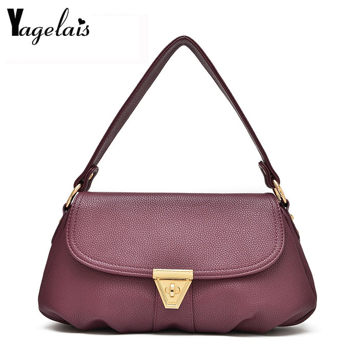 Hot Baguette Bag Retro Small Party Clutch Women 2019 Laides Messenger Flap Handbags High Quality  Female Crossbody Shoulder Bags