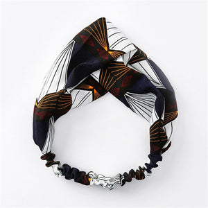 Hot Sale Knot Hairband Headband For Women Vintage Head Wrap Headwear For Girls Hair Accessories For Women Bandana Scarf